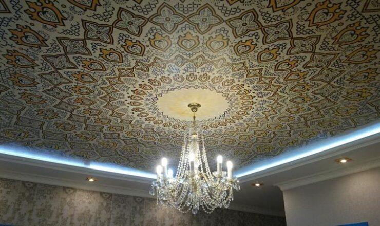 Тканевые потолки Тула
